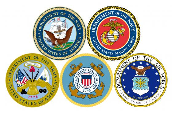 military branches logo
