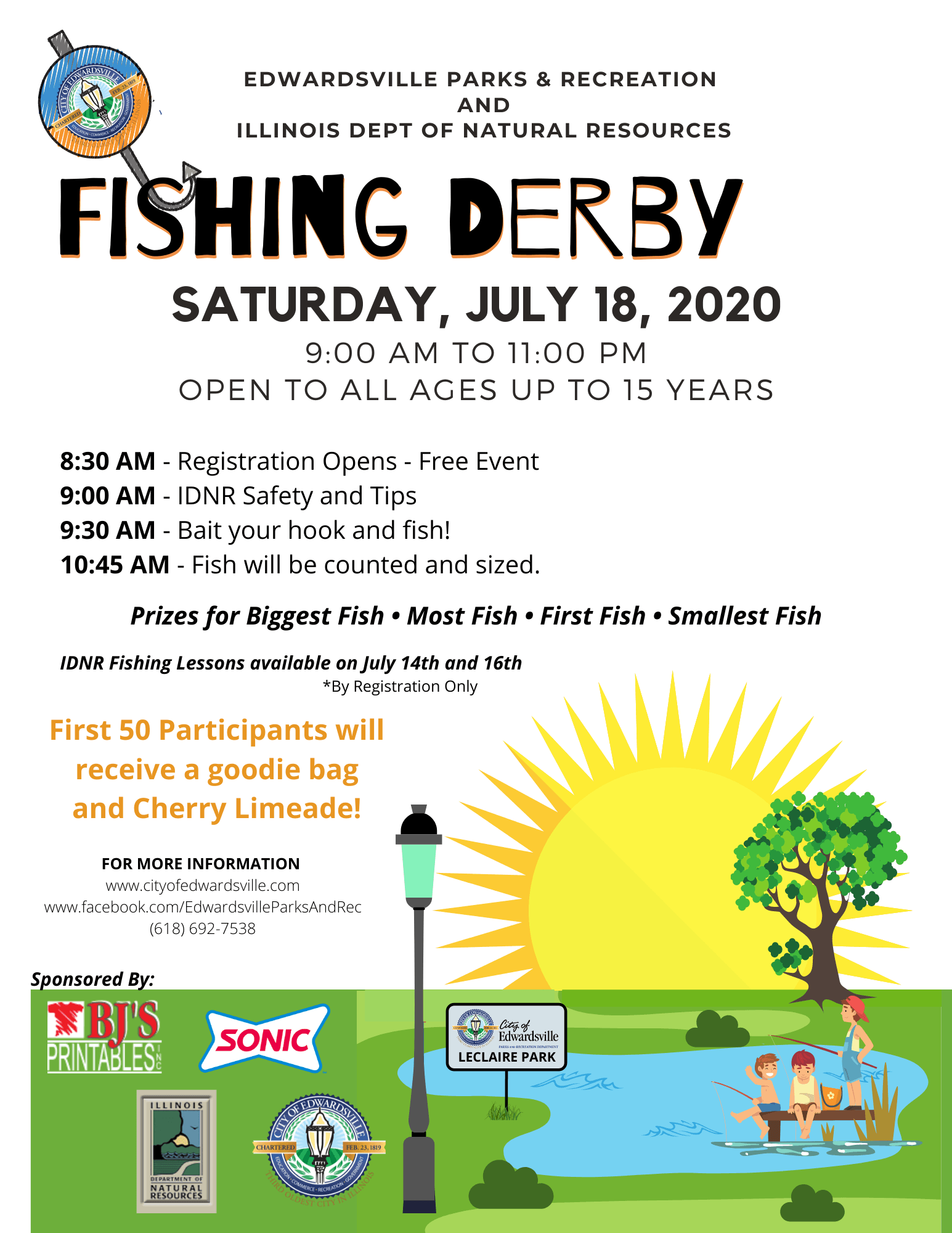 Fishing Derby 2018 Opens in new window