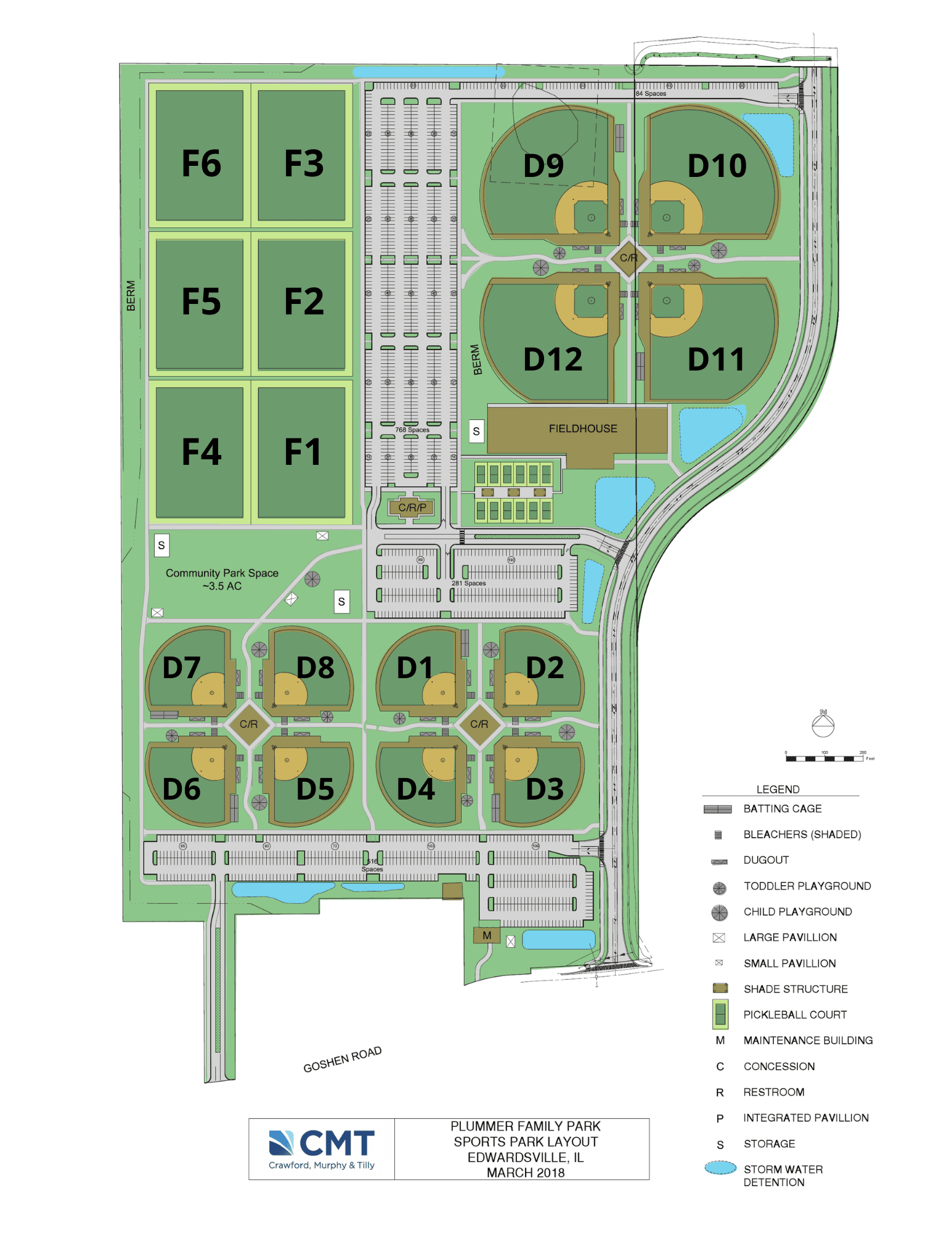 Plummer map layout field numbers